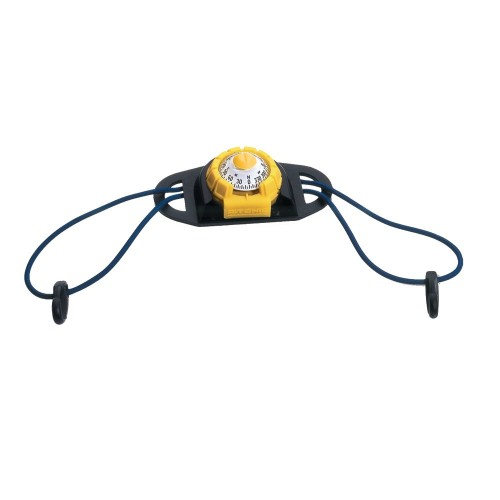 Ritchie X-11Y-TD SportAbout Compass w-Kayak Tie-Down Holder - Yellow-Black