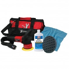 Shurhold Dual Action Polisher Start Kit w-Pro Polish- Pad - MicroFiber Towel