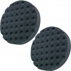 Shurhold Pro Polish Black Foam Pad - 2-Pack - 6-5- f-Dual Action Polisher