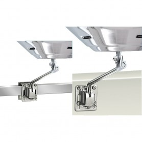 Magma Square-Flat Rail Mount or Side Bulkhead Mount f-Kettle Series Grills