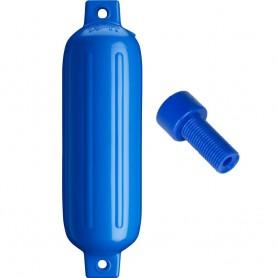 Polyform G-3 Twin Eye Fender 5-5- x 19- - Blue w-Air Adapter