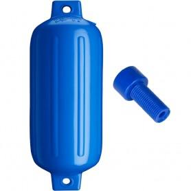 Polyform G-5 Twin Eye Fender 8-8- x 26-8- - Blue w-Air Adapter