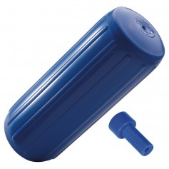 Polyform HTM-3 Hole Through Middle Fender 10-5- x 27- - Blue w-Air Adapter