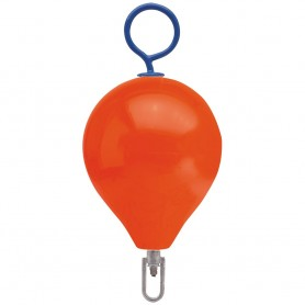 Polyform Mooring Buoy w-Iron 13-5- Diameter - Red