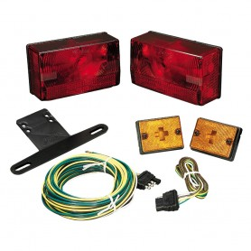 Wesbar Submersible Over 80- Taillight Kit w-Sidemarkers