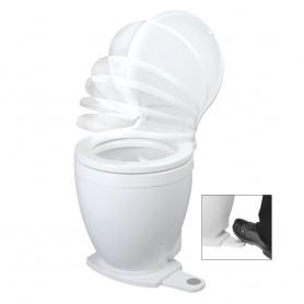 Jabsco Lite Flush Electric 12V Toilet w-Footswitch