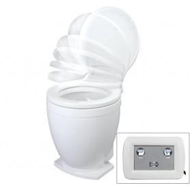 Jabsco Lite Flush Electric 12V Toilet w-Control Panel