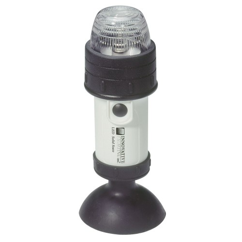 Innovative Lighting Portable LED Stern Light w-Suction Cup