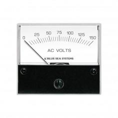 Blue Sea 9353 AC Analog Voltmeter 0-150 Volts AC