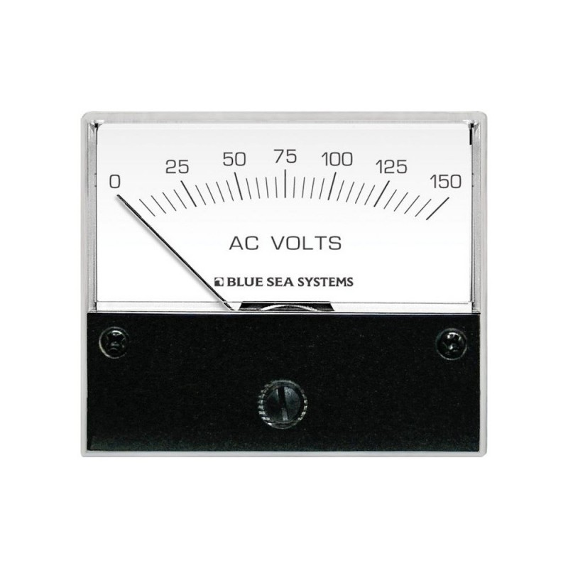 Blue Sea 9353 AC Analog Voltmeter 0-150V AC