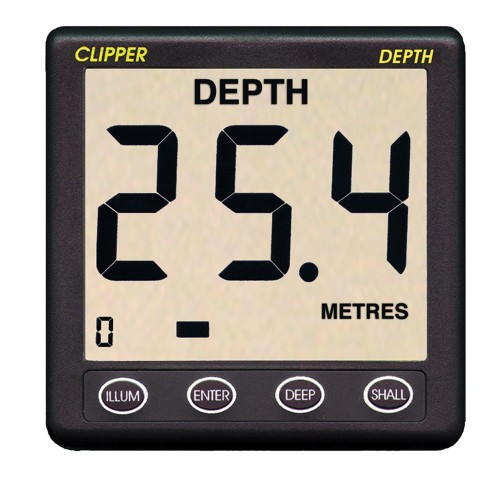 Clipper Depth Instrument w-Thru Hull Transducer - Cover