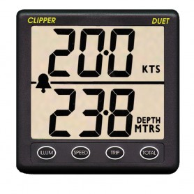 Clipper Duet Instrument Depth Speed Log w-Transducer