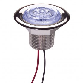 Innovative Lighting 3 LED Starr Light Recess Mount - Blue