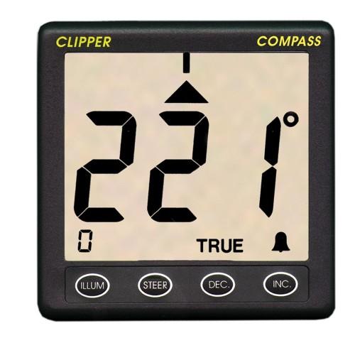 Clipper Compass System w-Remote Fluxgate Sensor