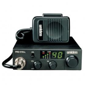 Uniden PRO510XL CB Radio w-7W Audio Output