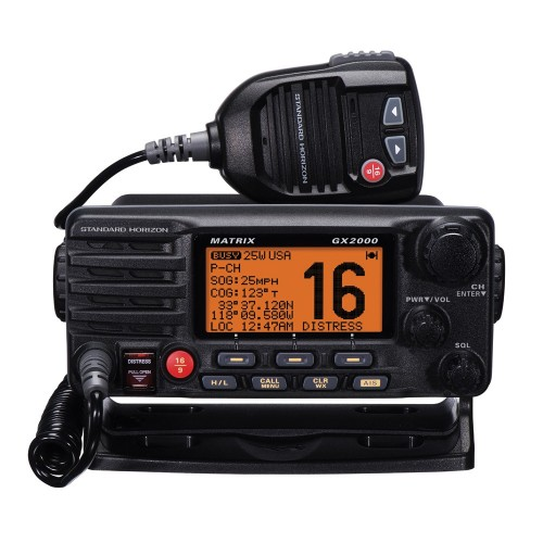 Standard Horizon Matrix GX2000 VHF w-Optional AIS Input 30W PA