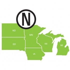Navionics HotMaps Platinum Lake Maps - North - microSD-SD