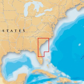 Navionics Platinum- - South Carolina - North Florida - microSD-SD