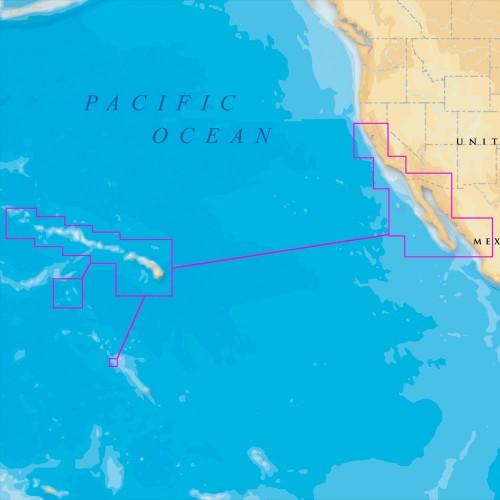 Navionics Platinum- - Hawaii- California South to Baja - microSD-SD
