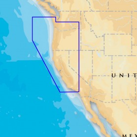 Navionics Platinum- - Oregon - California - microSD-SD