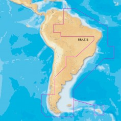 Navionics Platinum-- South America East - microSD-SD