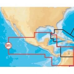 Navionics Platinum- Mexico-Central America - microSD-SD