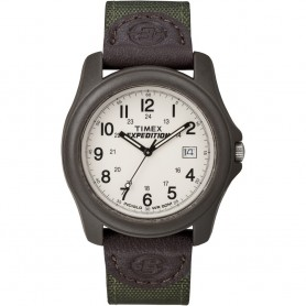 Timex Expedition Unisex Camper Brown-Olive Green
