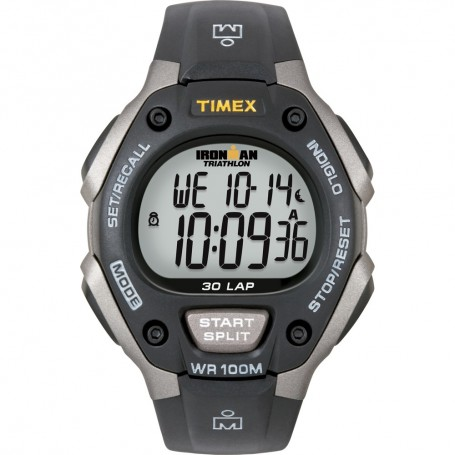 Timex Ironman Triathlon 30 Lap - Black-Silver