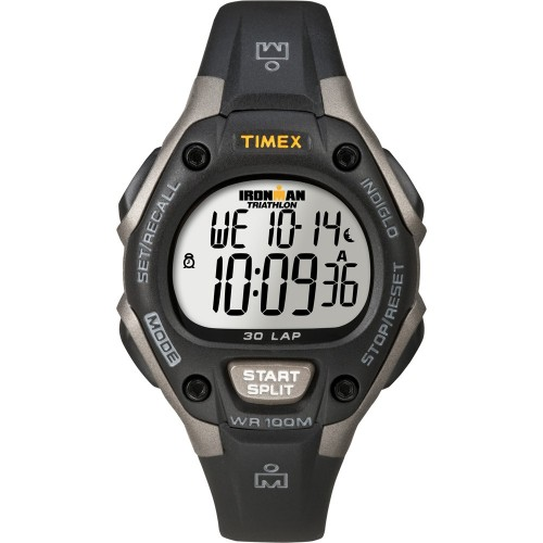 Timex Ironman Triathlon 30 Lap Mid Size Grey-Black