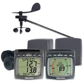Raymarine Wireless Speed Depth Wind NMEA System