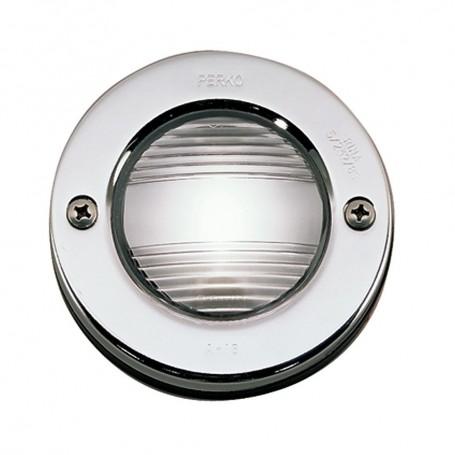 Perko Vertical Mount Stern Light 12VDC w-Chrome Bezel