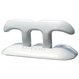 Dock Edge Flip Up Dock Cleat 8- - White