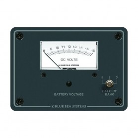 Blue Sea 8015 DC Analog Voltmeter w-Panel