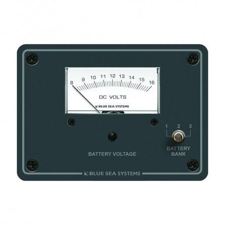Blue Sea 8015 DC Analog Voltmeter w-Panel