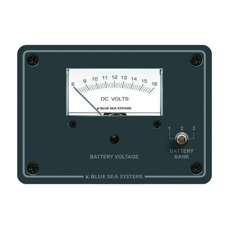 Blue Sea 8015 DC Analog Voltmeter w- Panel