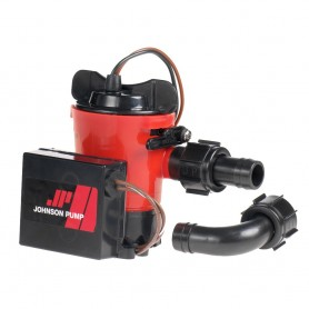 Johnson Pump 500 GPH Auto Bilge Pump 3-4- Hose 12V Dura Port