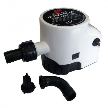 Johnson Pump Ultima Bilge 1000 GPH 3-4- Hose Dura Port