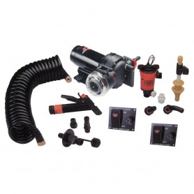 Johnson Pump Aqua Jet 5-2 GPH Wash Down-550 Live Well Kit