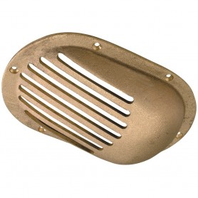 Perko 3-1-2- x 2-1-2- Scoop Strainer Bronze MADE IN THE USA