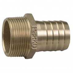 Perko 1-1-4- Pipe to Hose Adapter Straight Bronze MADE IN THE USA