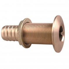 Perko 1-1-4- Thru-Hull Fitting f-Hose Bronze MADE IN THE USA