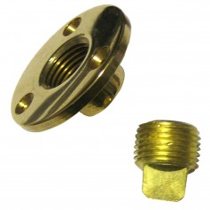 Perko Garboard Drain - Drain Plug Assy Cast Bronze-Brass MADE IN THE USA