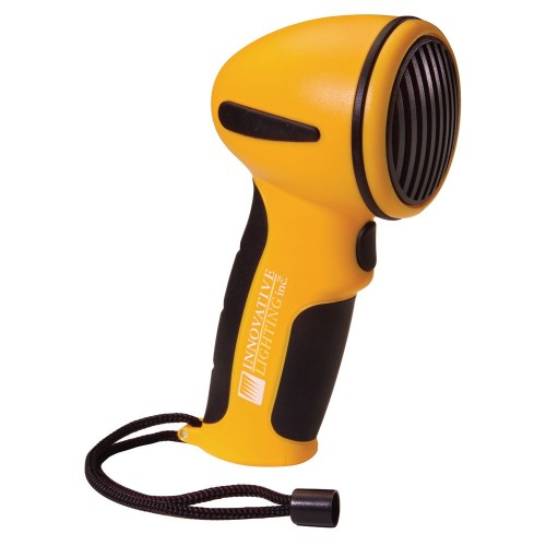 Innovative Lighting Handheld Electronic Horn Yellow