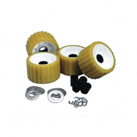 C-E- Smith Ribbed Roller Replacement Kit - 4 Pack - Gold