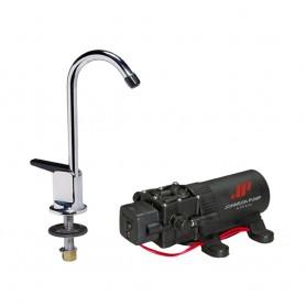 Johnson Pump 1-1 Pump-Faucet Combo 12V