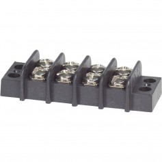 Blue Sea 2404 Terminal Black 20AMP - 4 Circuit