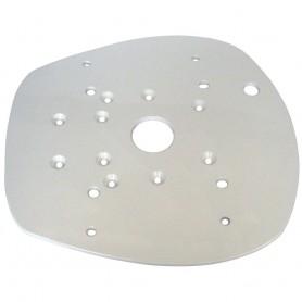 Edson Vision Series Mounting Plate - Simrad-Lowrance-BG 4G and 2kW HD Radar Dome