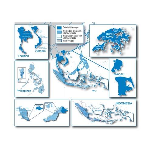 Garmin City Navigator - Southeast Asia NT - microSD-SD