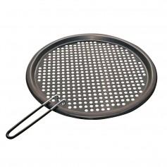 Magma Fish - Veggie Grill Tray S-S- w-Non-Stick - 13-3-4- Round