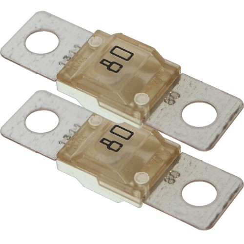 Blue Sea 5255 MIDI-AMI Fuse 80 Amp - 2 pack